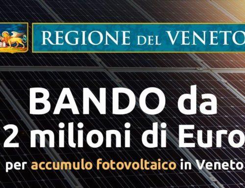 Bando accumulo Veneto: il testo completo
